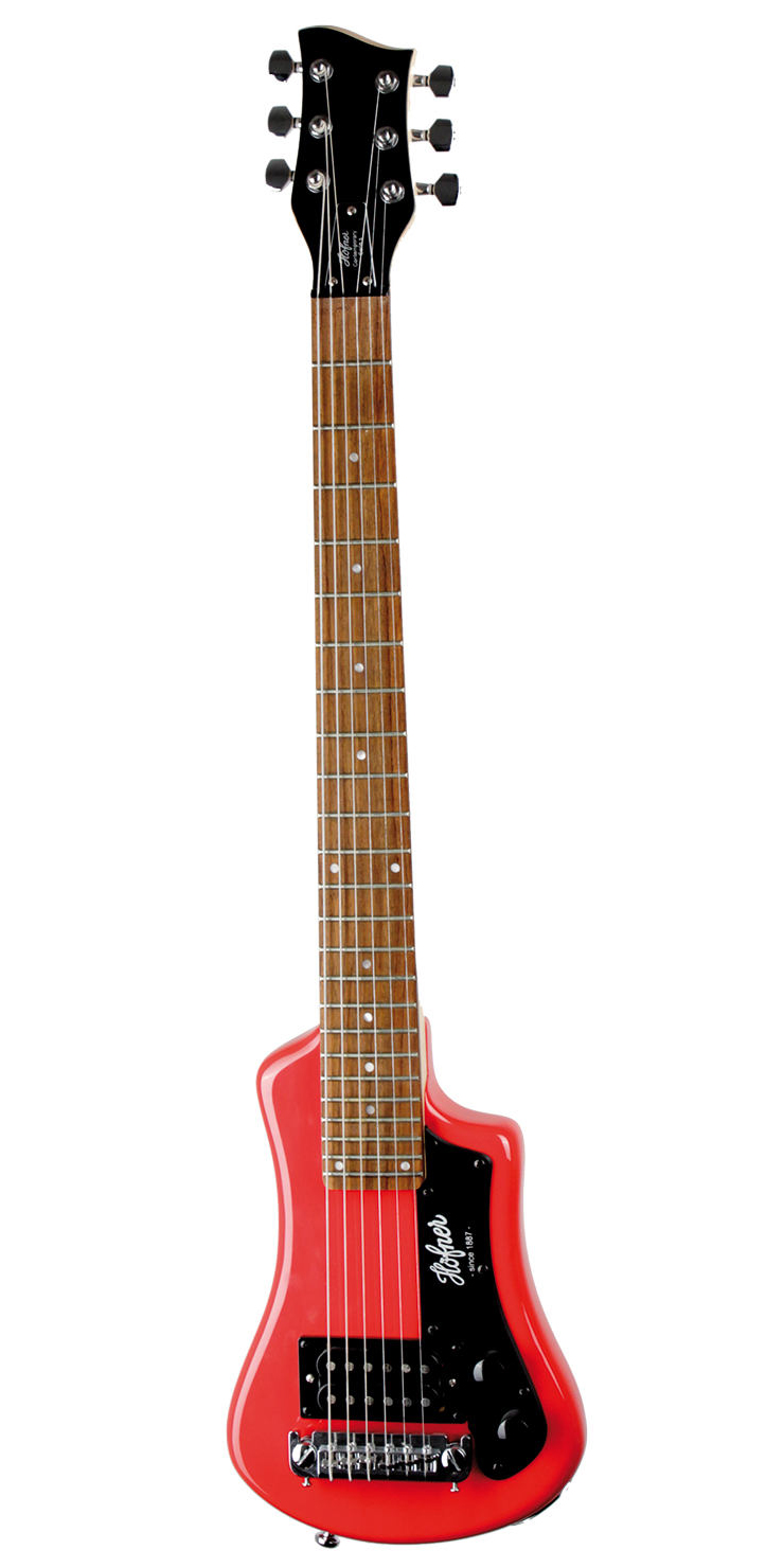Shorty Guitar Red