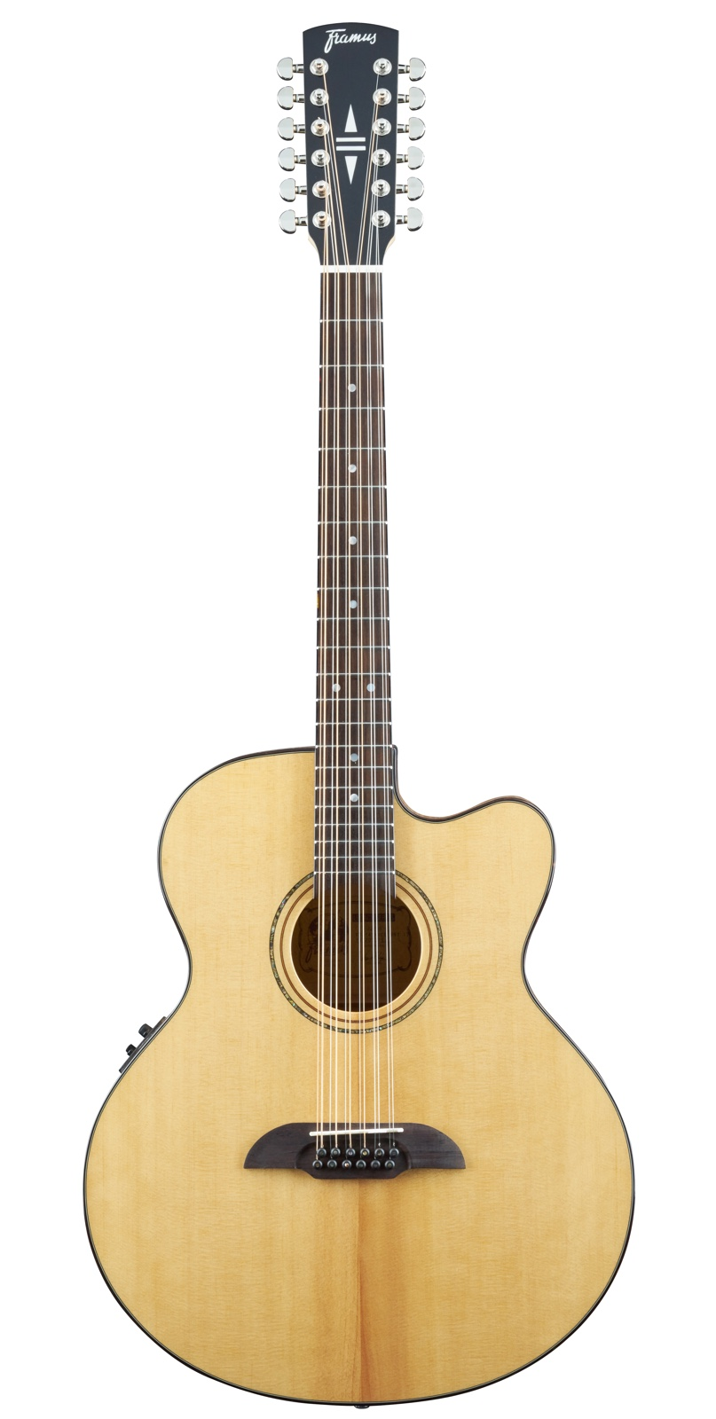FJ 14 SMV 12-String Jumbo, with Cutaway & EQ